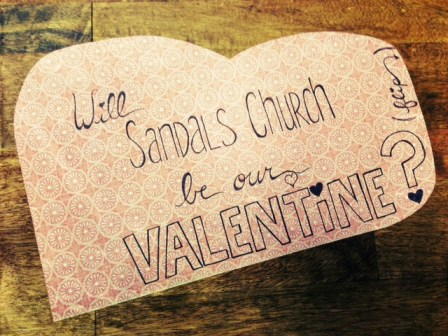 Missions Board Valentine: Front