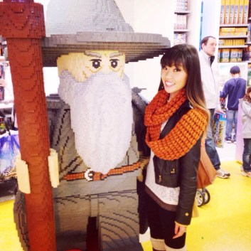 Lego Gandalf the Grey and I