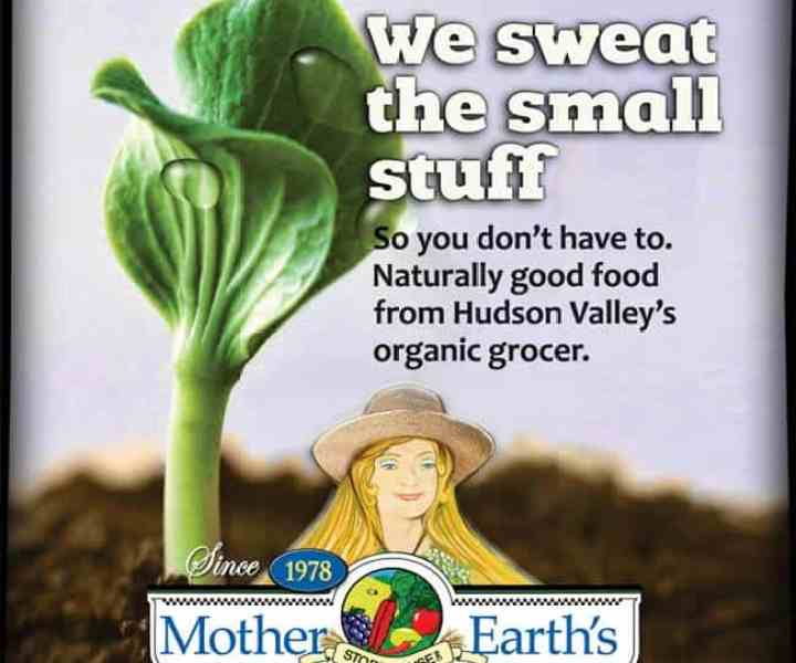 Ad design for Healthy Living section of the Poughkeepsie Journal