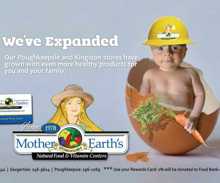 Final ad design for New York Healthfood Store Expansion
