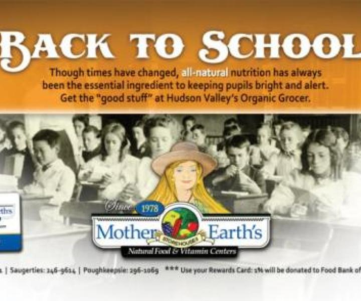 Ad design for Back-To-School advertising campaign