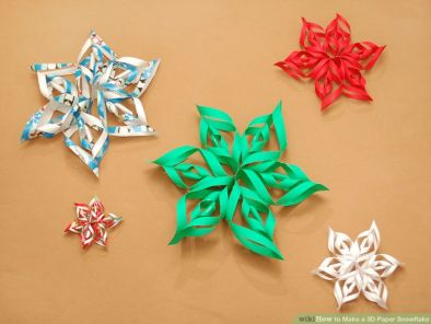 make-3-d-paper-snowflake-from-wrapping-paper