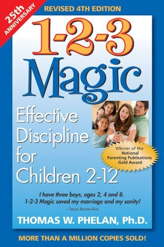 1-2-3 Magic: Effective Discipline for Children 2-12 years old - Amazon Affiliate Link