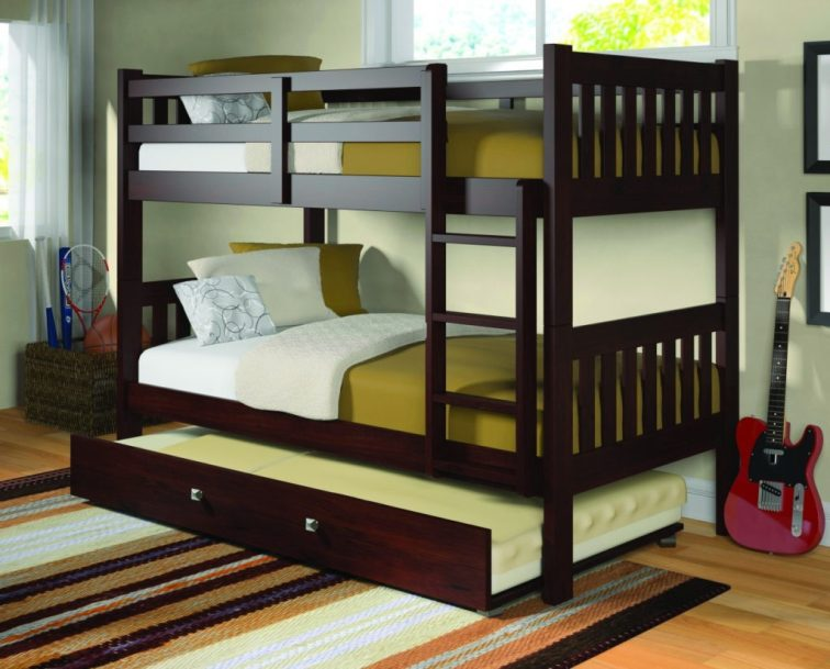 A great breakdown on bunk beds for kids! This mom discussed all the different factors you need to consider when going bunk bed shopping, like finding the safest bunk beds and the best place to buy bunk beds.