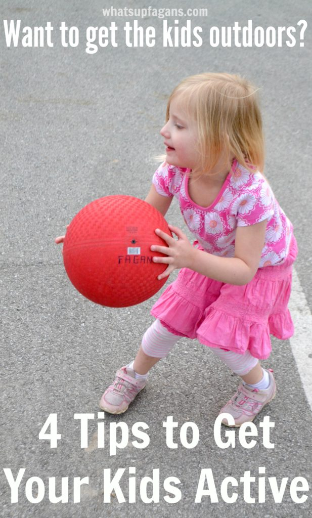 Want the kids outdoors? Then you need these four tips! | whatsupfagans.com