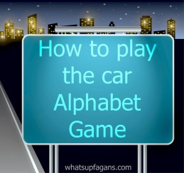 alphabet car game