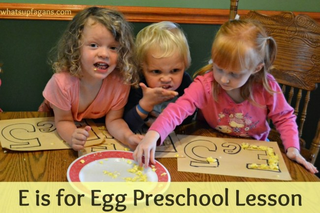 E is for Egg Preschool