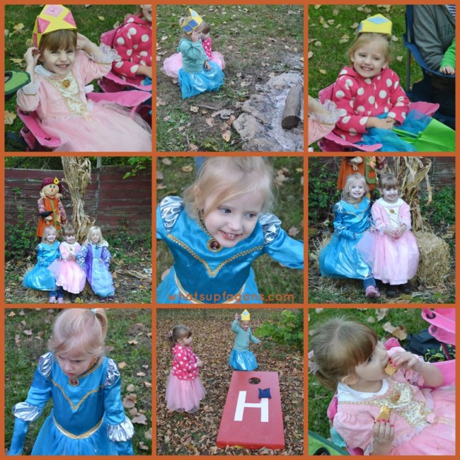Princess Costume Party Collage