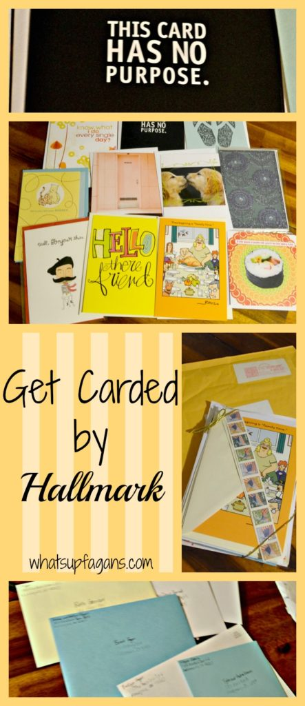 Get Carded by Hallmark - Touch someone today by sending them a card! whatsupfagans.com