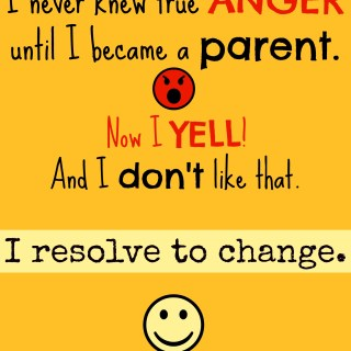 I'm a lousy yeller, so why do I yell at my children? I don't like yelling. I resolve to change my reaction to my anger as a parent. whatsupfagans.com