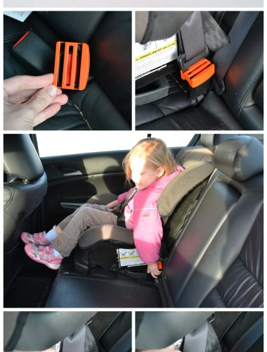 "Use BeltLock to stop little fingers from ""accidentally"" releasing the seat belt securing their car seat! Awesome device! whatsupfagans.com"