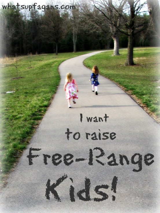 Free-Range Kids Book Review. I too, want to let my kids have the freedom that I had as a kid!! whatsupfagans.com