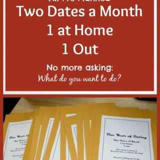"How to create ""A Year of Dates"" Gift for your loved one this Valentine's Day. whatsupfagans.com"