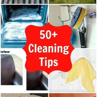 50+ Cleaning Tips and Tricks to deep clean every room in your home! This is an awesome #springcleaning list!   whatsupfagans.com
