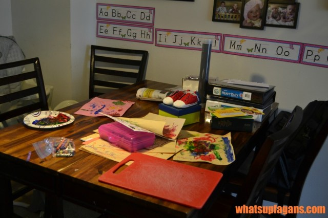 Behind the Blog - Dining Room Table