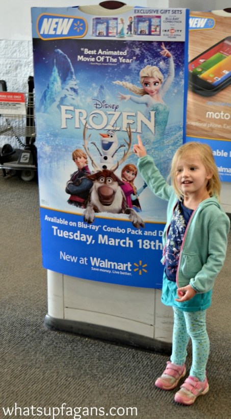 It's here!! Disney FROZEN is now available at Wal-mart on DVD! #shop #cbias #FROZENFun