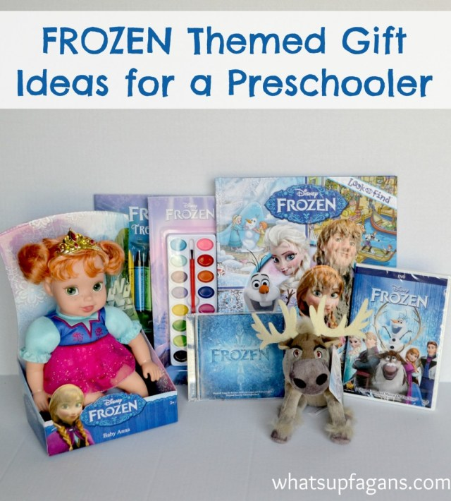 Great gift ideas for your a FROZEN loving preschooler! #shop #cbias | whatsupfagans.com