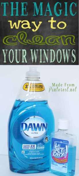 Household Cleaning Tips - Magic Way to clean Your WIndows