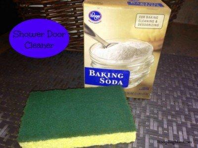 Household Cleaning Tips - ShowerDoorCleaner-400x300