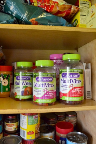 My Healthy Sweet Spot - Vitafusion MultiVites gummy vitamins for adults. They are delicious and good for me! #healthyfusion #MC #sponsored