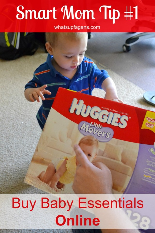 #SmartMom Tip #1 - Save yourself some time (and money) and just buy baby essentials online like @Huggies from @DiaperDotCom #SuperMom #Offer #sp