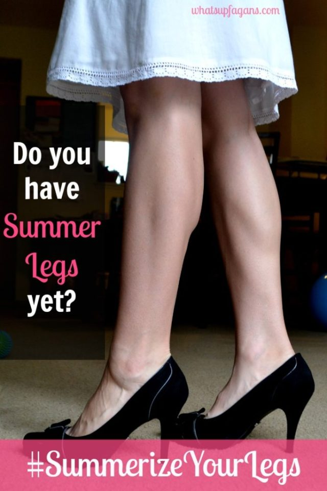 Do you have summer legs yet? Learn how #SummerizeYourLegs for less! #cbias #shop