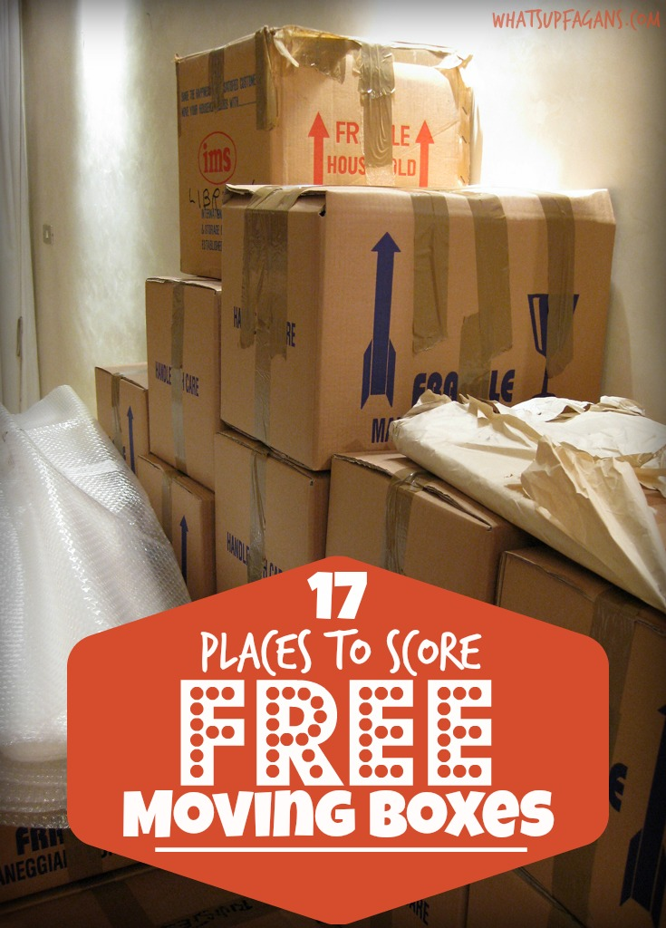 Where to get good moving boxes free near me
