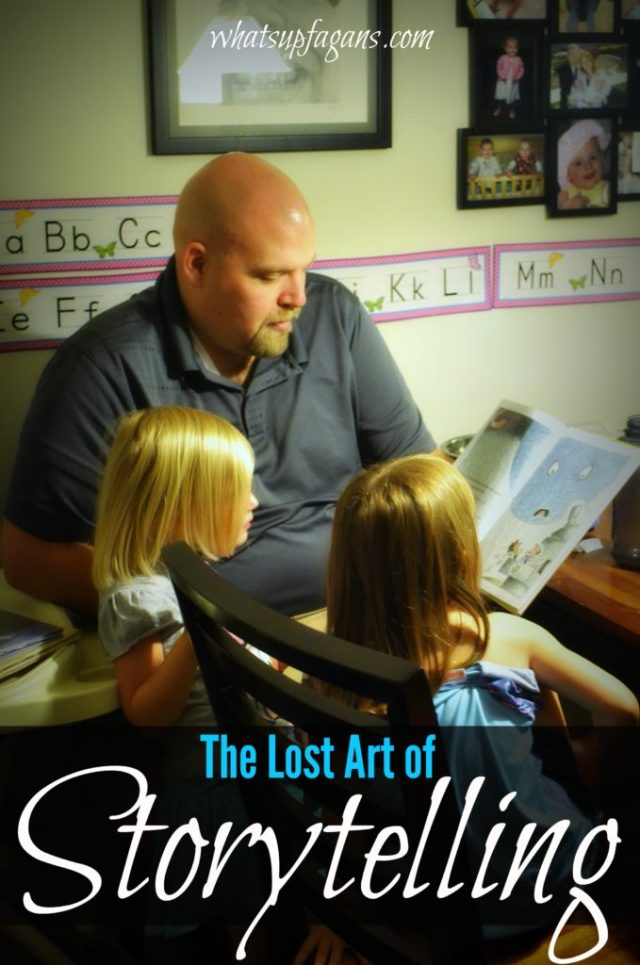 Reviving the Lost Art of Storytelling with kids. Put down the books and start spinning tales!