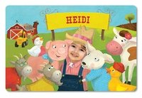 Get a personalized story book with your kids picture in it! And their name.