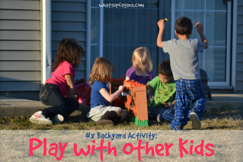 Top Backyard Activities for 4 year olds play with other kids
