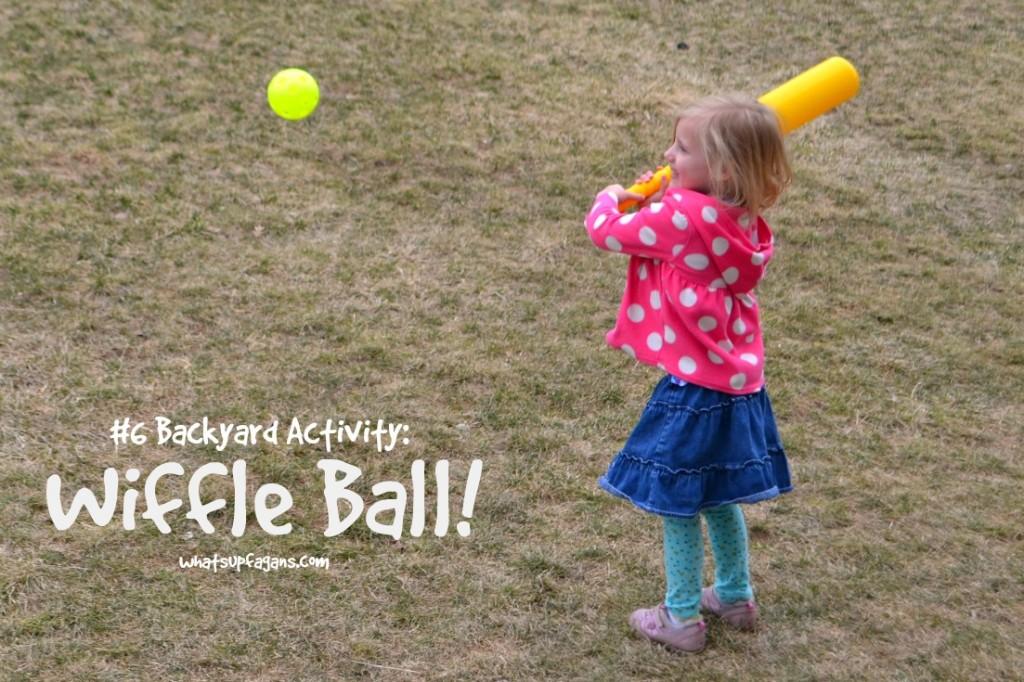Top Backyard Activity Wiffle Ball