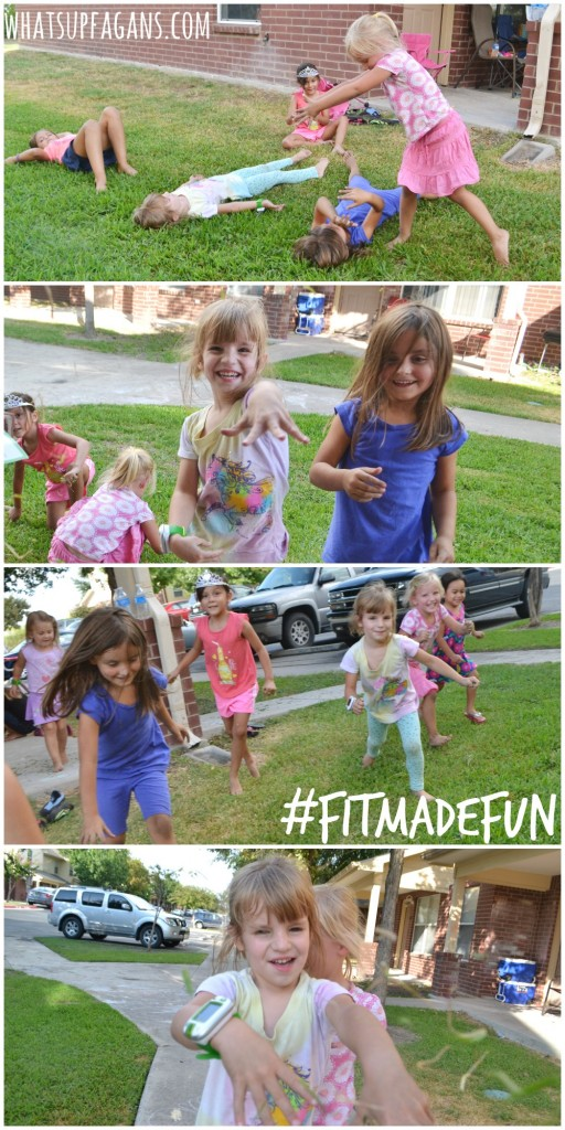 #FitMadeFun Throwing Grass