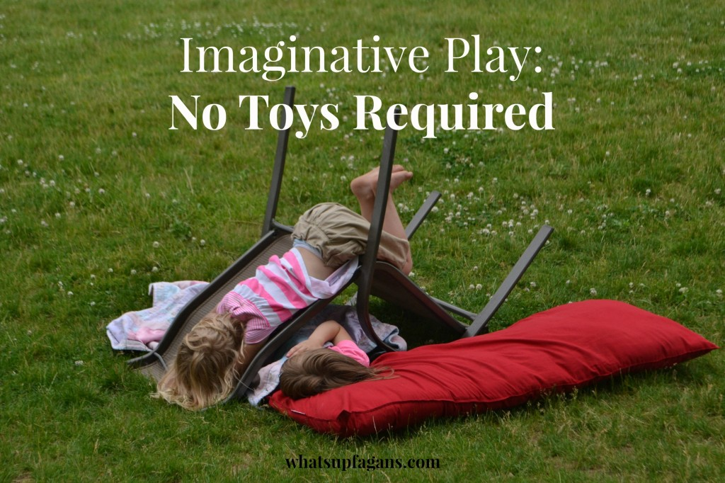 It's SO true! Kids don't really need toys to pretend and imagine!