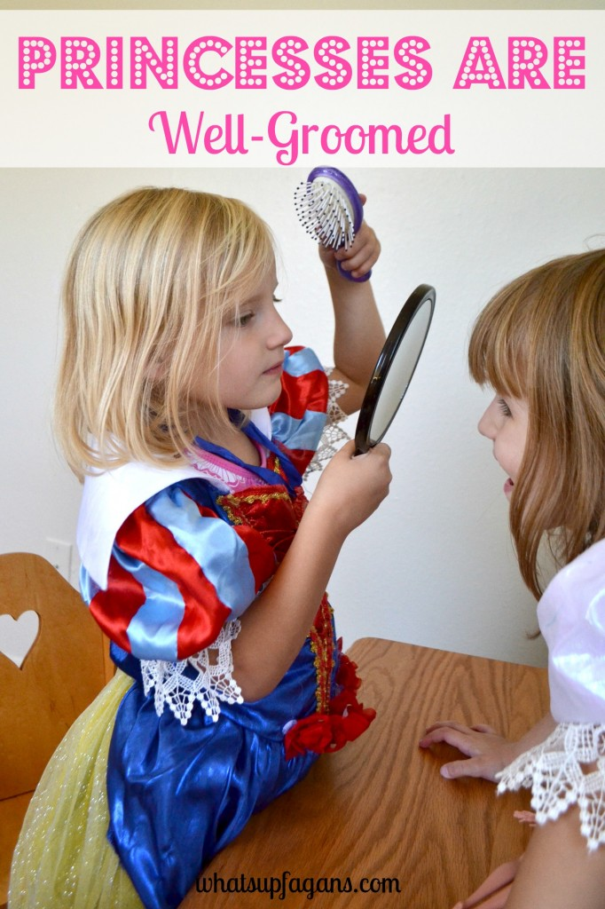 Want to instill qualities of a princess in your daughter? Then they better be well-groomed! #DisneyBeauties #shop #cbias