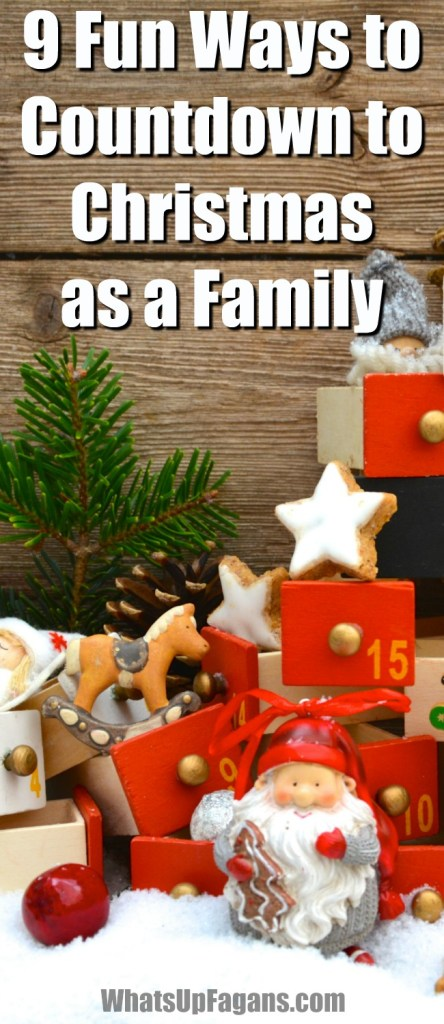 Super fun Christian countdown to Christmas ideas! 9 different ways to countdown to Christmas