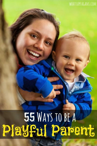 Love this list of parenting tips on how to be a playful, silly, goofy parents! I totally need to have more fun with my kids.