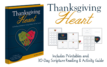 Thanksgiving Heart and Printables