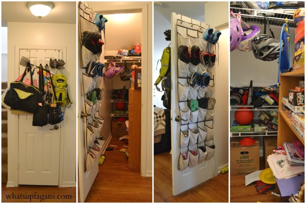 Organization - Small Apartment Closet Storage Solution