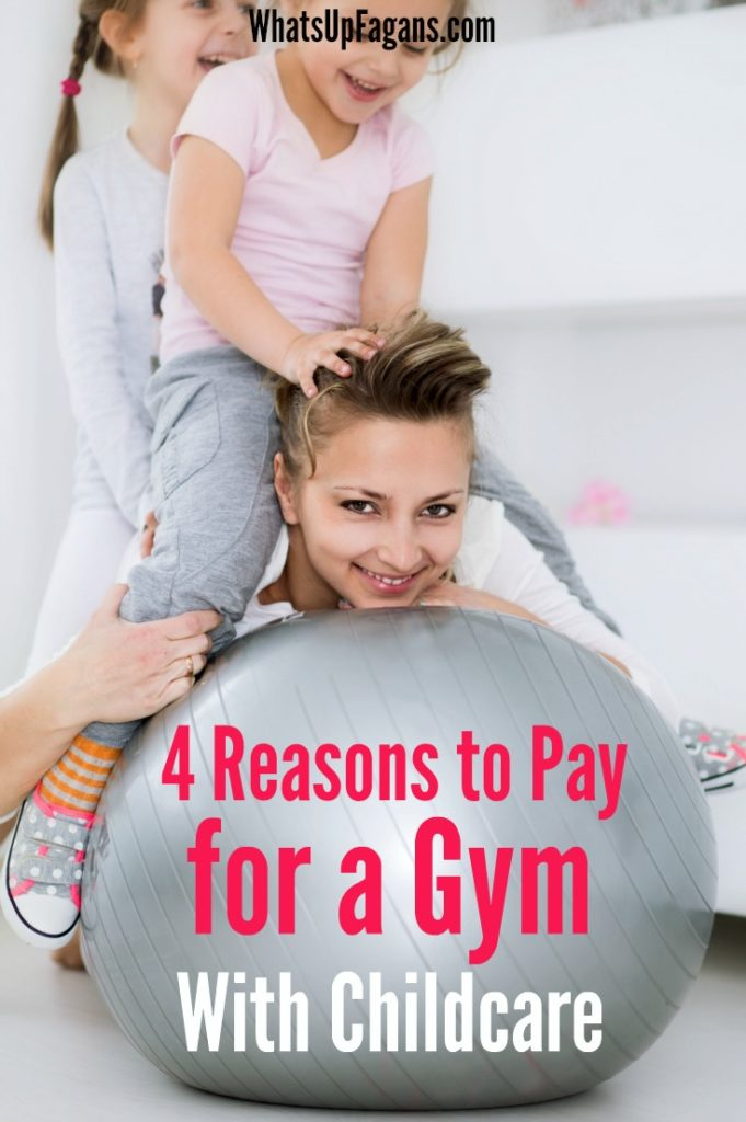 YES! Workout videos just don't get me jazzed to exercise and workout. A gym with childcare certainly has its perks.