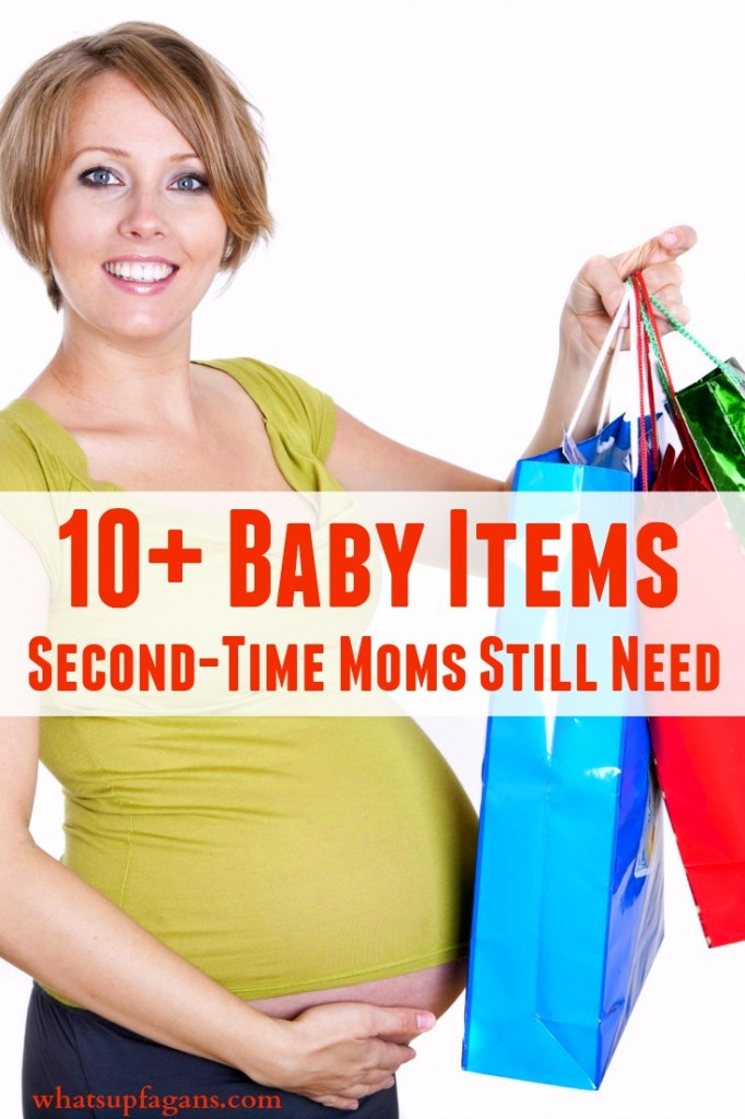 When you're expecting a baby that isn't your first, there are still things you will need on your baby gift registry. And these 10+ items really are all items a second time mom needs for a new baby.