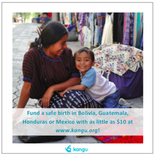 Help a woman receive the prenatal care they need by donating to Kangu!