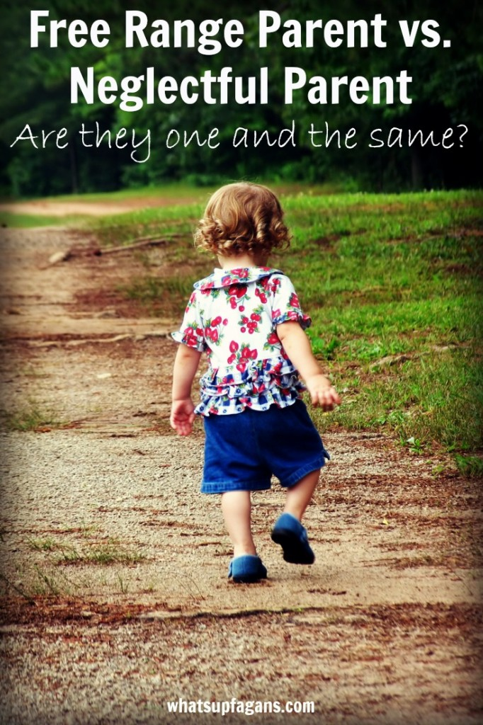 Is free range kids parenting the same as neglectful parenting? The truth about free range kids and whether they are neglected or abused by their parents.