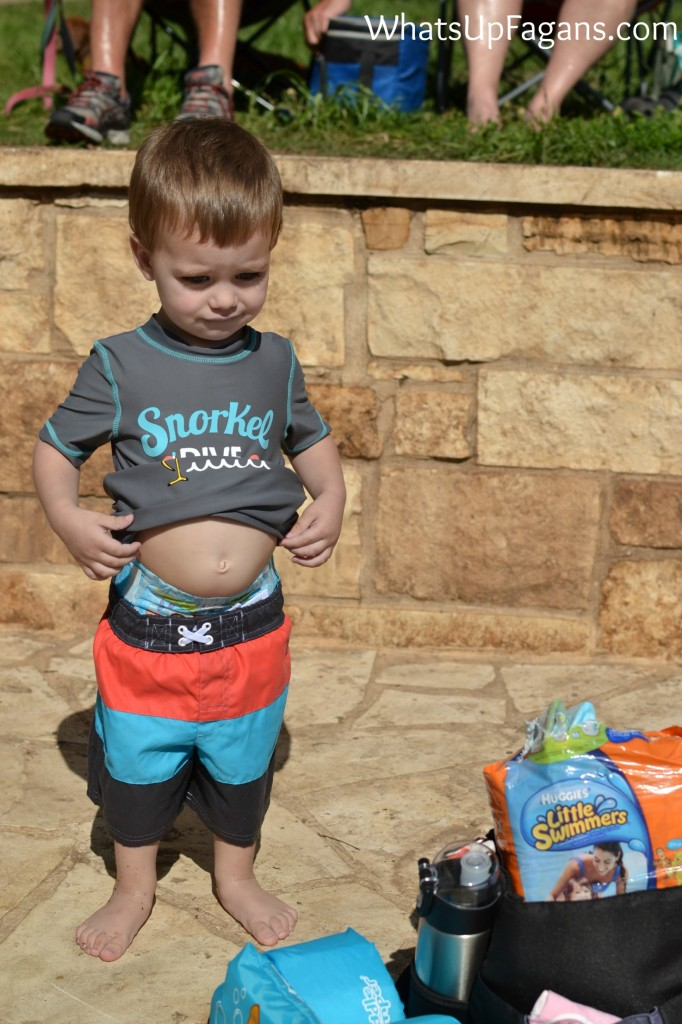 I love the new Huggies Little Swimmers! Makes pool time so much better.