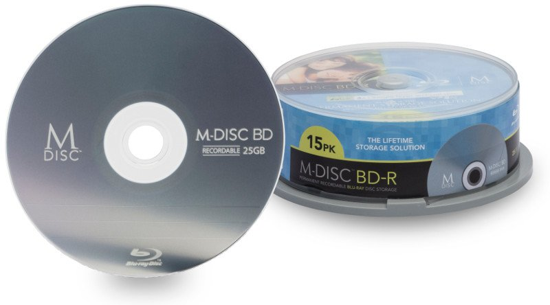 The absolute best way to store digital photos. Create a digital archive with the M-Disc