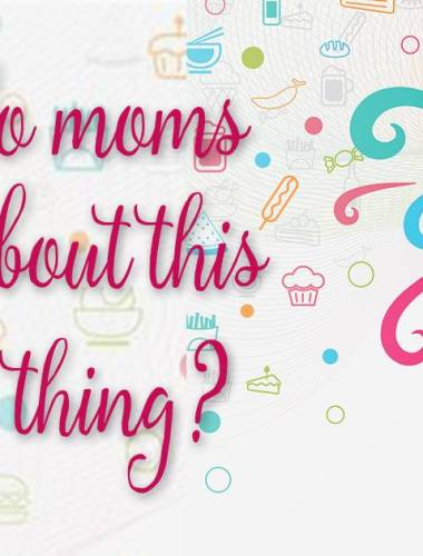 SUCH a great post on motherhood! Being a mom is hard and we really do need to stop obsessing about this one thing!