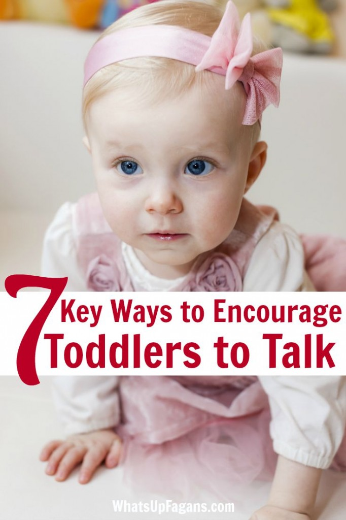 Great parenting tips for moms who are trying to get their toddlers to talk! Good speech and language skills are so important to early development.
