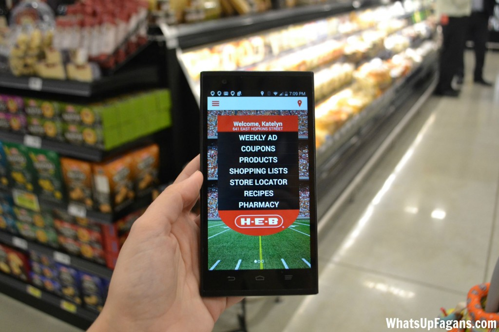 HEB App for Digital Coupons