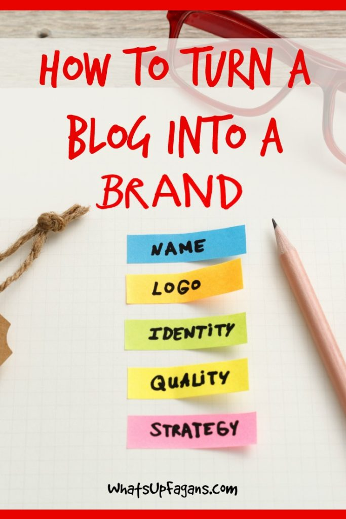 If you have a personal blog or website you need to brand it! Great blogging tips on how to brand a blog so it'll stick out from the millions of blogs out there.