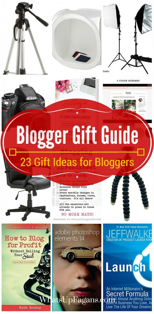 Great gift ideas for bloggers, photographers, and website owners! These blogging tools and resources would really make a difference.