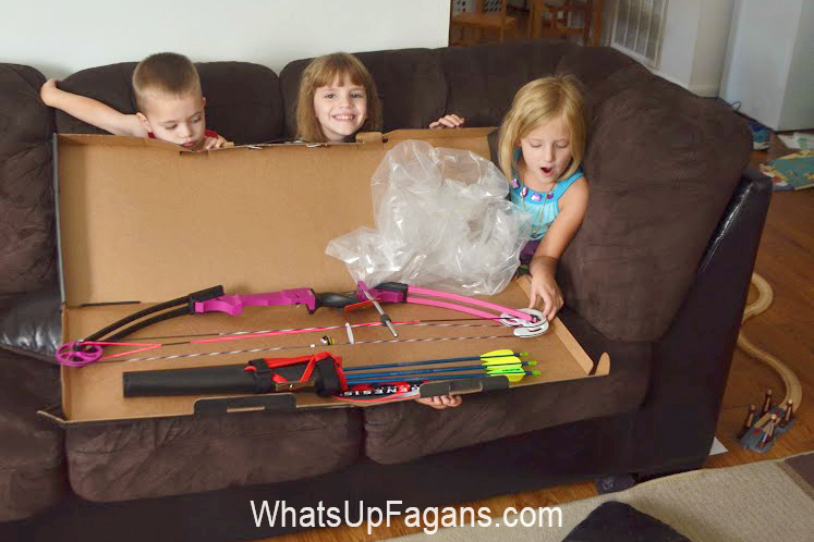 archery for kids - why you should totally gift your kids a bow and arrow set